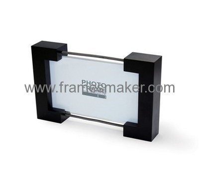Rectangle classic black and clear photo frame AP-003
