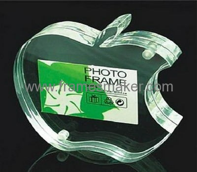 Acrylic apple shape photo frame AP-002