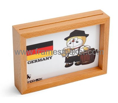 Free stand wood photo frame WP-003