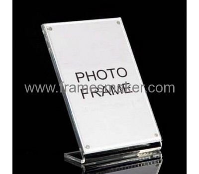 L shape acrylic photo booth frames AP-017
