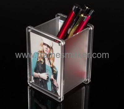 Pen holder with photo frames AP-026
