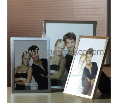 Metal photo frames with glass panel MP-001