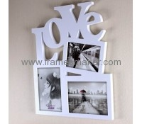 LOVE wooden creative photo frame WP-009