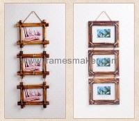 bamboo art photo frames WP-019
