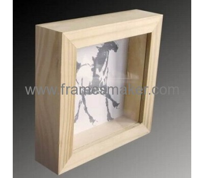 Hollow square wood photo frames WP-017