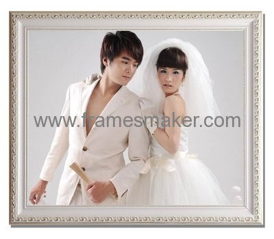 Large size wood wedding photo frames WP-018