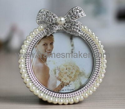 Wedding Photo Frame With Pearl MP-009