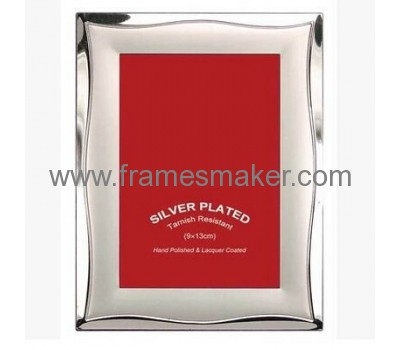 Silver plated metal photo frames MP-012