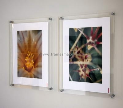 Wall mounted clear photo frames AP-008