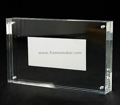Magnetic clear acrylic photo frames AP-015