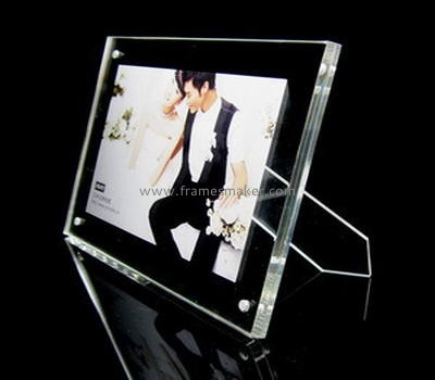 Classic plastic photo frame with strut AP-020