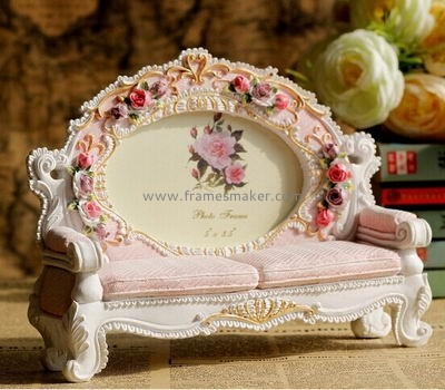 Sofa shaped  resin photo frames RF-007