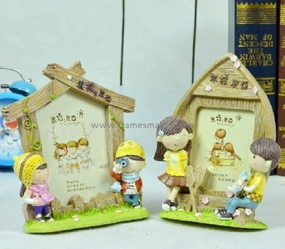 Cartoon poly resin photo frames for children RF-016